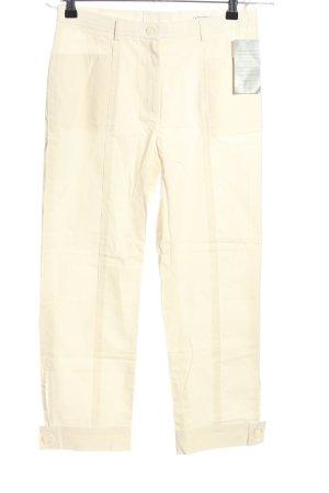 Singh Madan Pantalone jersey bianco sporco stile casual