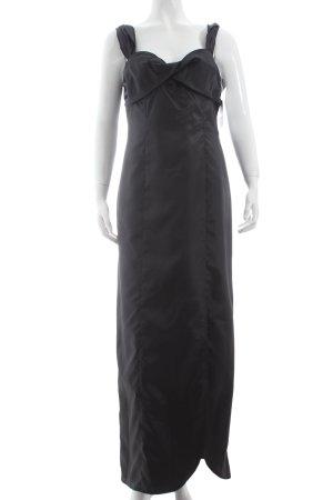 Singh Madan Trägerkleid schwarz Elegant