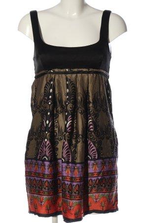 single dress Minikleid Allover-Druck Casual-Look