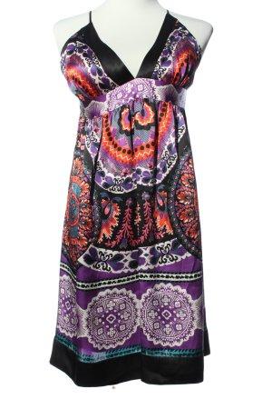 single dress Trägerkleid abstraktes Muster Casual-Look