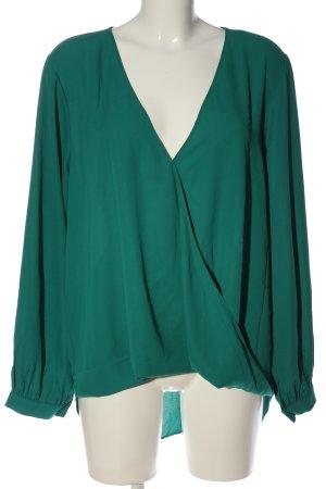 Single Blusa-camisa verde look casual