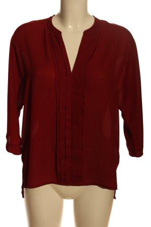Single Blusa caída rojo estilo «business»
