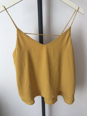 Pieces Camisole ocre