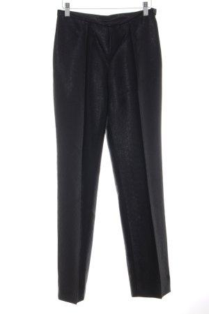 Sintesis Anzughose schwarz abstraktes Muster Business-Look