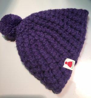 Sionyx Chapeau en tricot violet-lilas