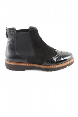 Sioux Chelsea Boots schwarz Casual-Look