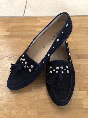 Sioux Moccasins dark blue