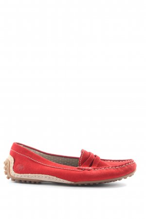 Sioux Mokassins rot Casual-Look