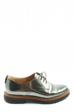 Sioux Lace Shoes silver-colored casual look