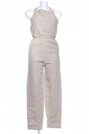 Jumpsuit wollweiß Casual-Look