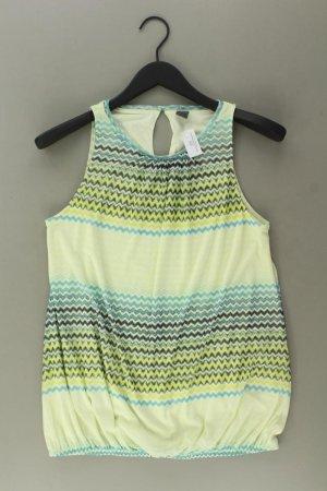 Sir Oliver Ärmellose Bluse Größe 38 gestreift mehrfarbig aus Polyester