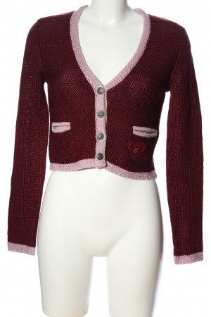 Sir Oliver Cardigan rot-pink Casual-Look