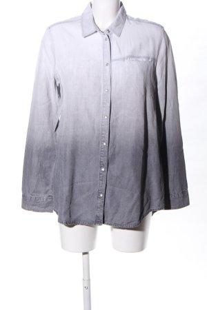 Sir Oliver Chemise en jean blanc-gris clair gradient de couleur
