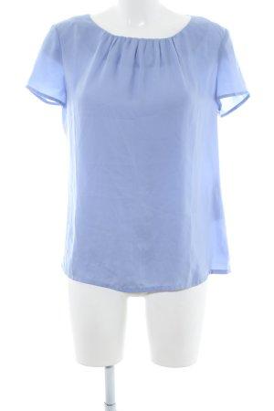 Sir Oliver Kurzarm-Bluse blau Casual-Look