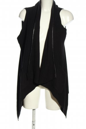 Sir Oliver Short Sleeve Knitted Jacket black casual look