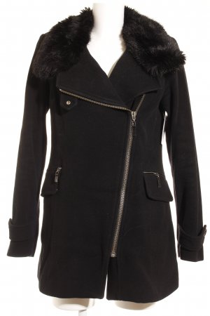 Sir Oliver Short Coat black classic style