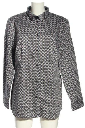 Sir Oliver Langarm-Bluse abstraktes Muster Business-Look
