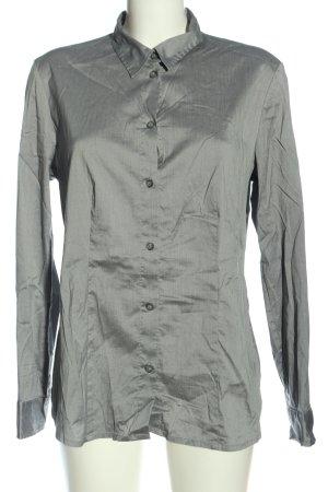 Sir Oliver Long Sleeve Shirt light grey casual look