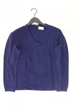 Sir Oliver Long Sweater blue-neon blue-dark blue-azure viscose