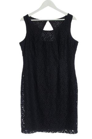 Sir Oliver Mini Dress black weave pattern casual look