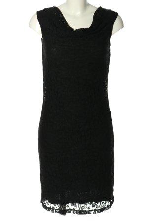 Sir Oliver Spitzenkleid schwarz Elegant