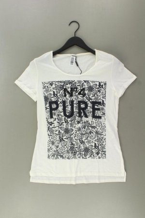 Sir Oliver Print Shirt natural white cotton