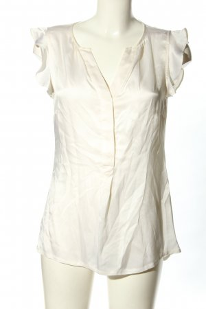 Sir Oliver Blouse en soie blanc cassé style d'affaires
