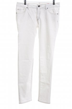 Sir Oliver Straight-Leg Jeans weiß Casual-Look
