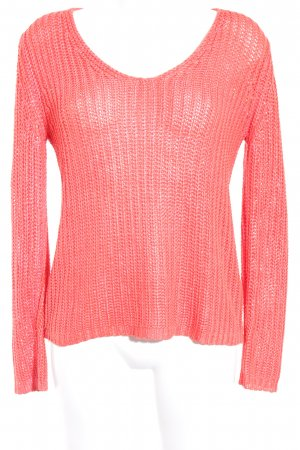 Sir Oliver Knitted Sweater bright red casual look