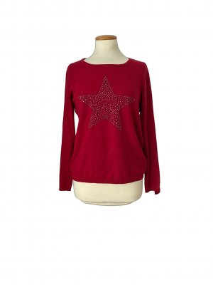 Sir Oliver Knitted Sweater dark red
