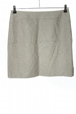Sir Oliver Wool Skirt light grey flecked casual look