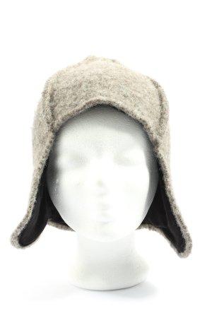 Sirri Bonnet cache-oreilles gris clair style décontracté