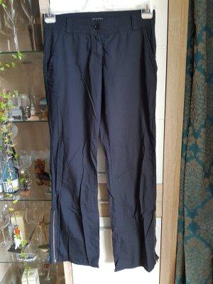 Sisley Pantalone jersey nero