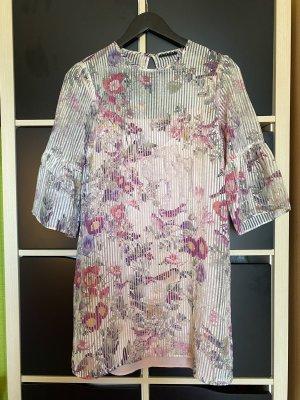 Sisley 3/4 Floral Burnout Kleid