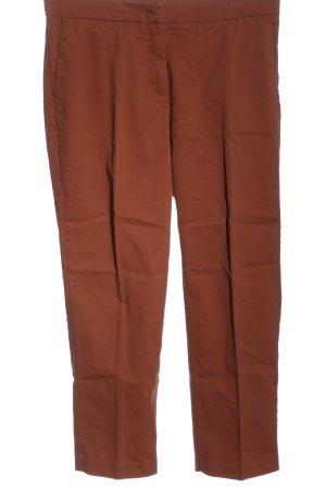 Sisley Pantalón tobillero marrón estilo «business»