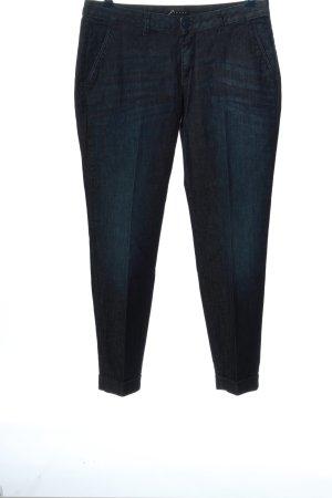 Sisley Pantalon 7/8 noir style décontracté