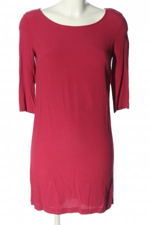 Sisley A-Linien Kleid rot Business-Look