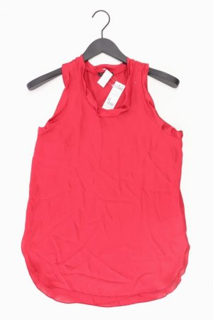 Sisley Ärmellose Bluse Größe XS neu mit Etikett rot