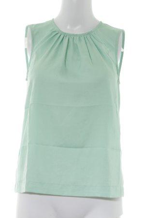 Sisley ärmellose Bluse hellgrün Elegant