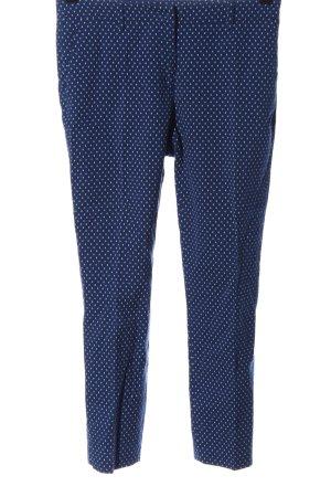 Sisley Pantalón de vestir azul-blanco look casual