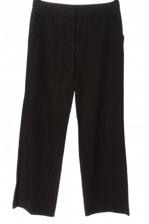 Sisley Anzughose braun Streifenmuster Business-Look