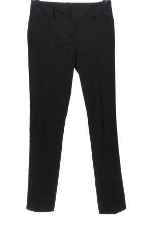 Sisley Pantalon zwart zakelijke stijl