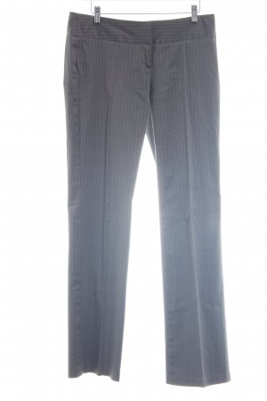 Sisley Anzughose hellgrau Streifenmuster Business-Look
