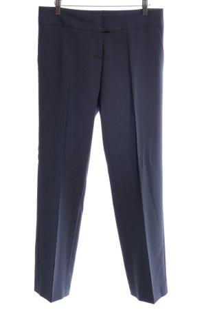 Sisley Anzughose blau Business-Look