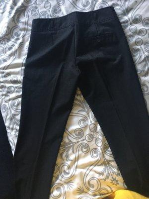 Sisley pantalón de cintura baja negro