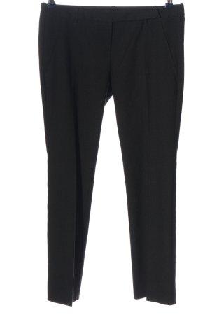 Sisley Spodnie garniturowe czarny W stylu casual