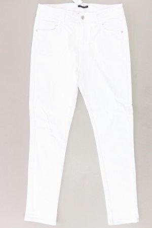 Sisley Workowate jeansy w kolorze białej wełny