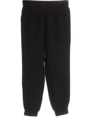 Sisley Luźne spodnie czarny W stylu casual
