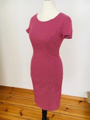 SISLEY: Bleistiftkleid, Etuikleid, schmales Kleid, 36, Himbeeren