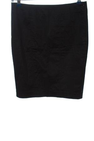 Sisley Bleistiftrock schwarz Casual-Look
